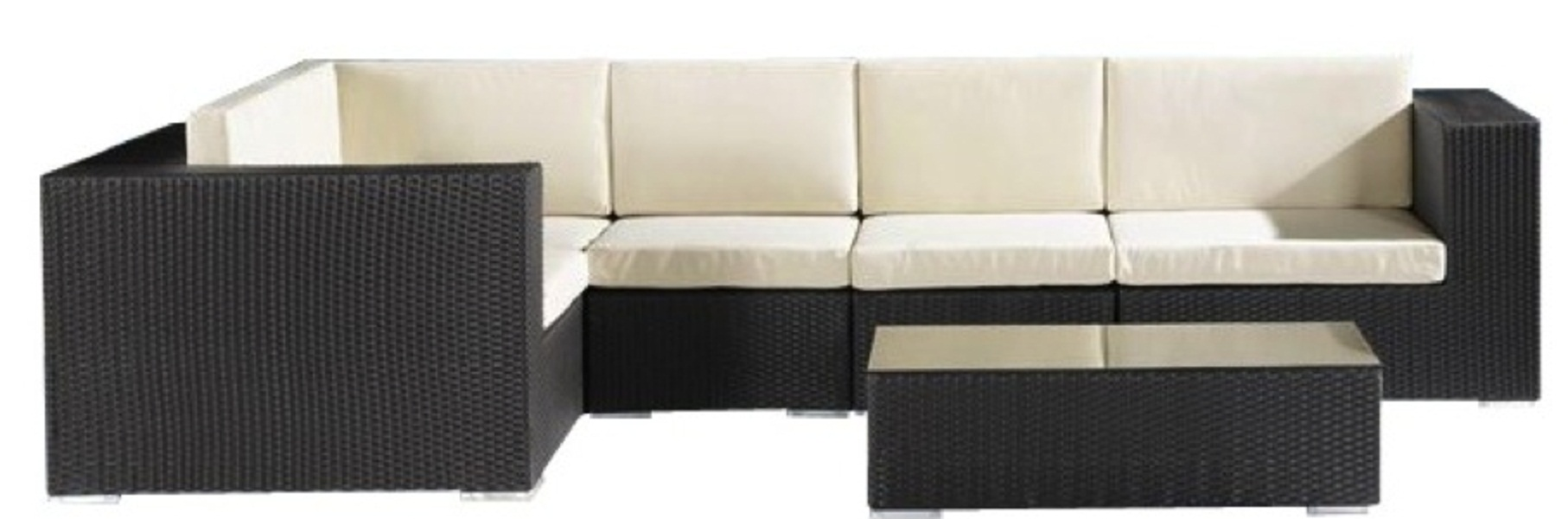 Jaavan Outdoor Ibiza Sectional Set