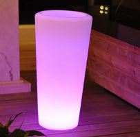 Jaavan Outdoor Planter LED Light with Remote