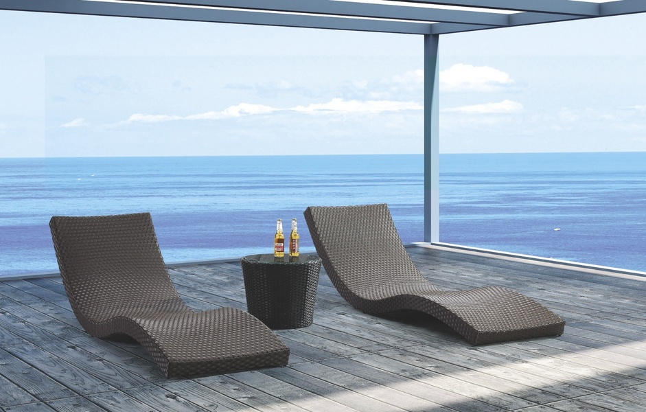 Jaavan Outdoor Wave Sunlounge