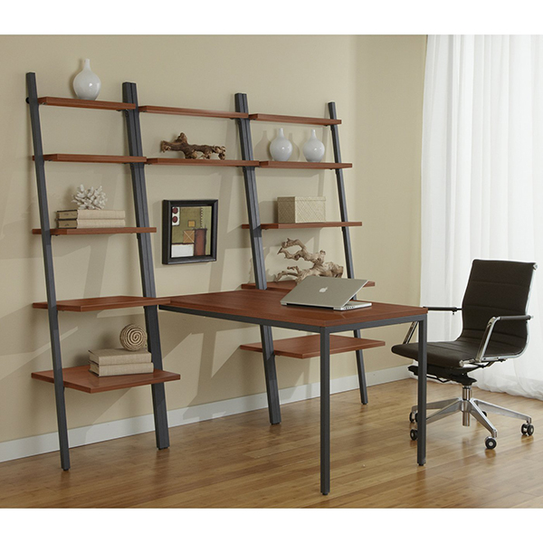 Jesper office b 30 71d 47 bookcase with 47 desk - Jesper office desk ...