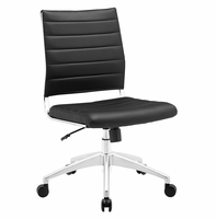 Jive Armless Mid Back Office Chair, Black [FREE SHIPPING]