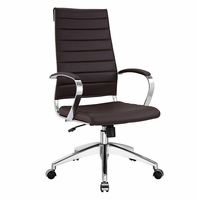 Jive Highback Office Chair, Brown [FREE SHIPPING]
