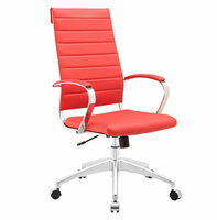Jive Highback Office Chair, Red [FREE SHIPPING]