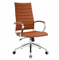 Jive Highback Office Chair, Terracotta [FREE SHIPPING]