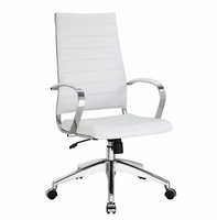 Jive Highback Office Chair, White [FREE SHIPPING]