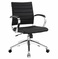 Jive Mid Back Office Chair, Black [FREE SHIPPING]