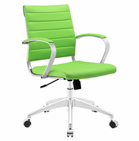 Jive Mid Back Office Chair, Bright Green [FREE SHIPPING]