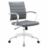 Jive Mid Back Office Chair, Gray [FREE SHIPPING]