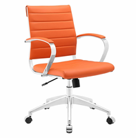 Jive Mid Back Office Chair, Orange [FREE SHIPPING]