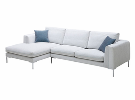 JNM  Bianca Premium Fabric Sectional (Left Hand Facing Chaise Only)