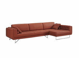 JNM  The Hampton Premium Leather Sectional (Right Hand Facing Chaise Only)