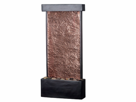 Kenroy Falling Water Oil Rubbed Bronze Finish Wall/Table Fountain - Free Delivery