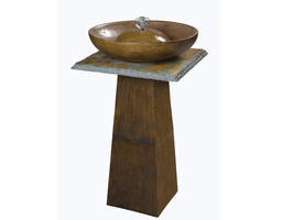 Kenroy Ferris Outdoor Bronze Finish Floor Fountain - Free Delivery