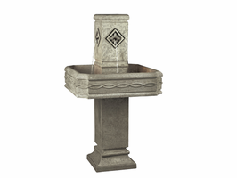 Kenroy Garden Star Gray Floor Fountain - Free Delivery
