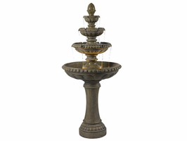Kenroy Rialto Outdoor Tuscan Earth Finish Floor Fountain - Free Delivery