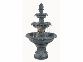 Kenroy Zinc Costa Brava Outdoor Fountain - Free Delivery