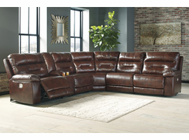 Ashley Furniture LAF Zero Wall Power Recliner, Sienna