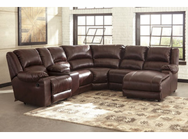 Ashley Furniture LAF Zero Wall Recliner, Mahogany