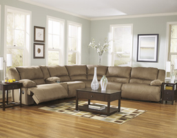 Ashley Furniture LAF Zero Wall Recliner, Mocha