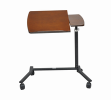 Laptop Table, Walnut Finish Color Matches Recliner Base
