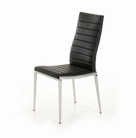 Libby - Modern Black Leatherette Dining Chair (Set of 2)