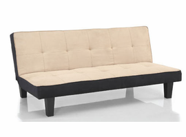 Lifestyle Solutions Blake Khaki Sleep Sofa Convertible