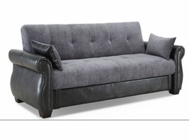 Lifestyle Solutions Normandy Sleep Sofa Convertible
