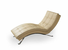 Lind 903 Armless Chaise