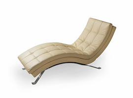 Lind 903 Recliner Armless Long Chaise