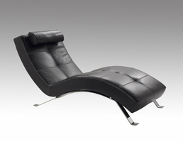 Lind 910 Armless Long Chaise