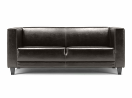 Lind 942 Leather Loveseat