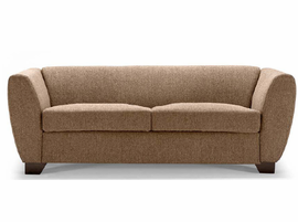 Lind 946 Leather Loveseat