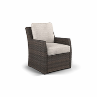 Ashley Furniture Lounge Chair with Cushion (1/CN), Beige/Brown