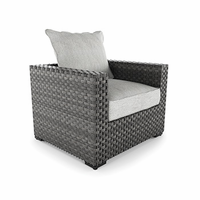 Ashley Furniture Lounge Chair with Cushion (1/CN), Gray