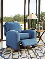 Ashley Furniture Low Leg Recliner, Blue