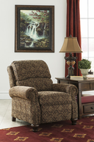 Ashley Furniture Low Leg Recliner, Garnet