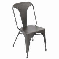 LumiSource Austin Industrial Dining Chair - Set Of 2