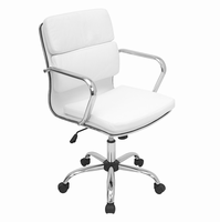LumiSource Bachelor Height Adjustable Office Chair with Swivel