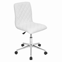 LumiSource Caviar Height Adjustable Contemporary Office Chair with Swivel