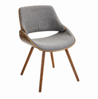 LumiSource Fabrizzi Mid-century Modern Counter Chair