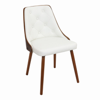 LumiSource Gianna Mid-century Modern Counter Chair