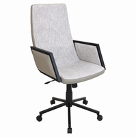 LumiSource Governor Height Adjustable Office Chair with Swivel