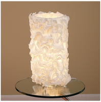 LumiSource Lace Contemporary Table Lamp in Cream
