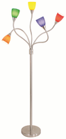 LumiSource Medusa Contemporary Floor Lamp in Multi