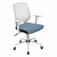 LumiSource Network Contemporary Height Adjustable Office Chair with Swivel