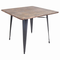 LumiSource Oregon Industrial Dining Table