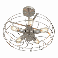 LumiSource Ozzy Vintage industrial Ceiling Fan