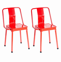 LumiSource Pair of Industrial Style Energy Chairs