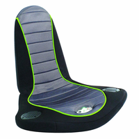 LumiSource Stingray BoomChair in Black and Grey