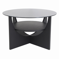 LumiSource U Shaped Coffee Contemporary Table